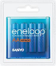 Sanyo Eneloop 2000mah AA 4/pack NiMH Batteries
