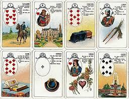 Les différentes versions des  cartes Lenormand - Page 7 Petit-Lenormand--cartes