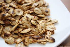 Spicy toasted pumpkin seed