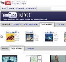 youtube edu Università on line su YouTube EDU con 200 atenei e quasi 40 mila video disponibili