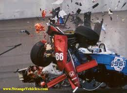 INDY CAR CRASH!