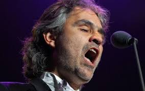 Andrea Bocelli praises mother