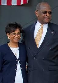 Gloria Cain, Herman Cains