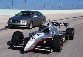 Q45 Pace Car and Indy Car
