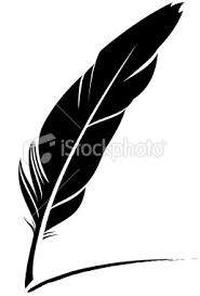 Quill pen icon Royalty Free