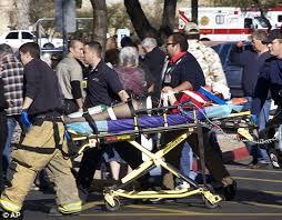 Arizona scene: Giffords is