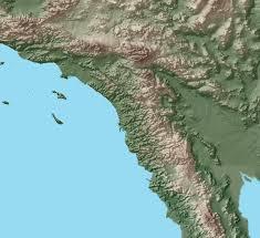 NWS radar image from San Diego