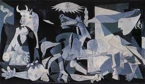 "Słynny obraz ""Guernica"" Pablo Picasso"
