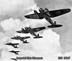 German Heinkel 111 bombers - the workhorse of the Luftwaffe during the Battle