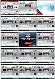 NFL 2009 Scores Week 7