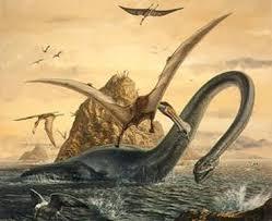 Poste aki as Criaturas de Batalhas. 300_sibbick_elasmosaurus