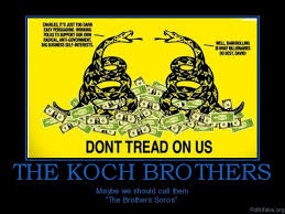 politics THE KOCH BROTHERS