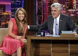 Miley Cyrus Stars On The Tonight Show on Jay Leno