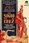 Cartel de la película, El signo de la cruz, 1932.