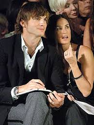 Demi Moore with Ashton Kutcher