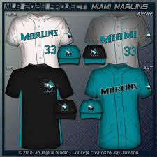 Miami Marlins Uniform Set by