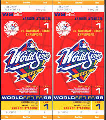 World Series Tickets