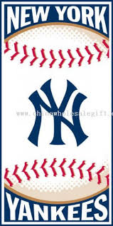 New York Yankees 30x60 Beach
