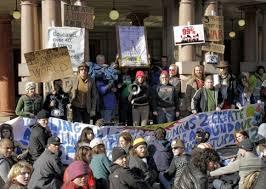 Occupy Portland protesters