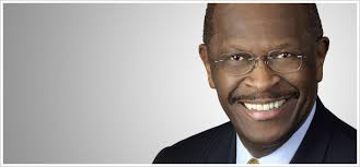 candidate Herman Cain may