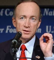 Mitch Daniels that focuses on