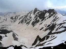 عکس رشته کوه های برفی و سرد