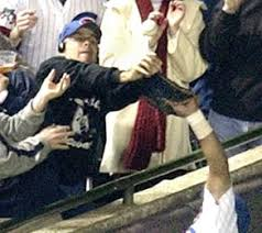 Steve Bartman was the
