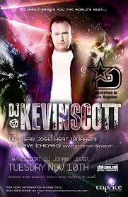 DJ Kevin Scott password for concert tickets.