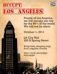 analysis about Occupy LAs