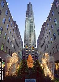 View of Rockefeller Center