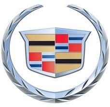 Cadillac script logo.
