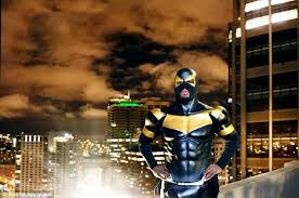 Phoenix Jones, dubbed the
