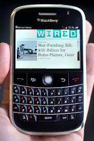 Gambaran umum service Blackberry