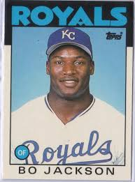Bo Jackson with a fresh,