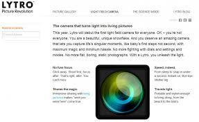 Lytro Camera �Living Pictures�