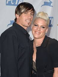 Pink and Carey Hart Working