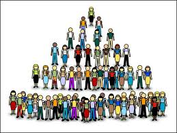 Viral Marketing - People Pyramid
