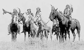 Sjevernoamerički indijanci Comanches