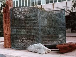 Kryptos depicts a verdigrised