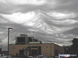 Weird Clouds Over Cedar Rapids