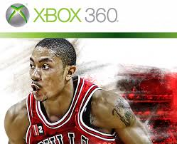 on the cover of NBA 2K12.