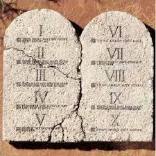 The Ten Commandments for Job