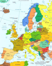 Map of Europe - Countries