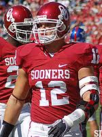 OU linebacker Austin Box