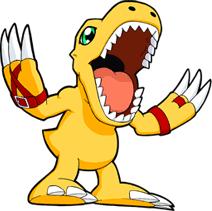 o agumon é um digimon tipo dragão/fogo tambem foi o digimon do tai do digimon temporada 1