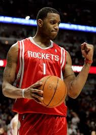 NBA player Tracy McGrady