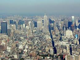 The view of the Empire State
