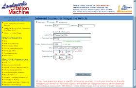 Citation machine about
