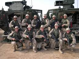 Veterans serving in Iraq