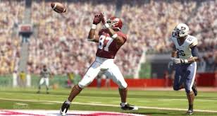 Screenshot of NCAA Football 12